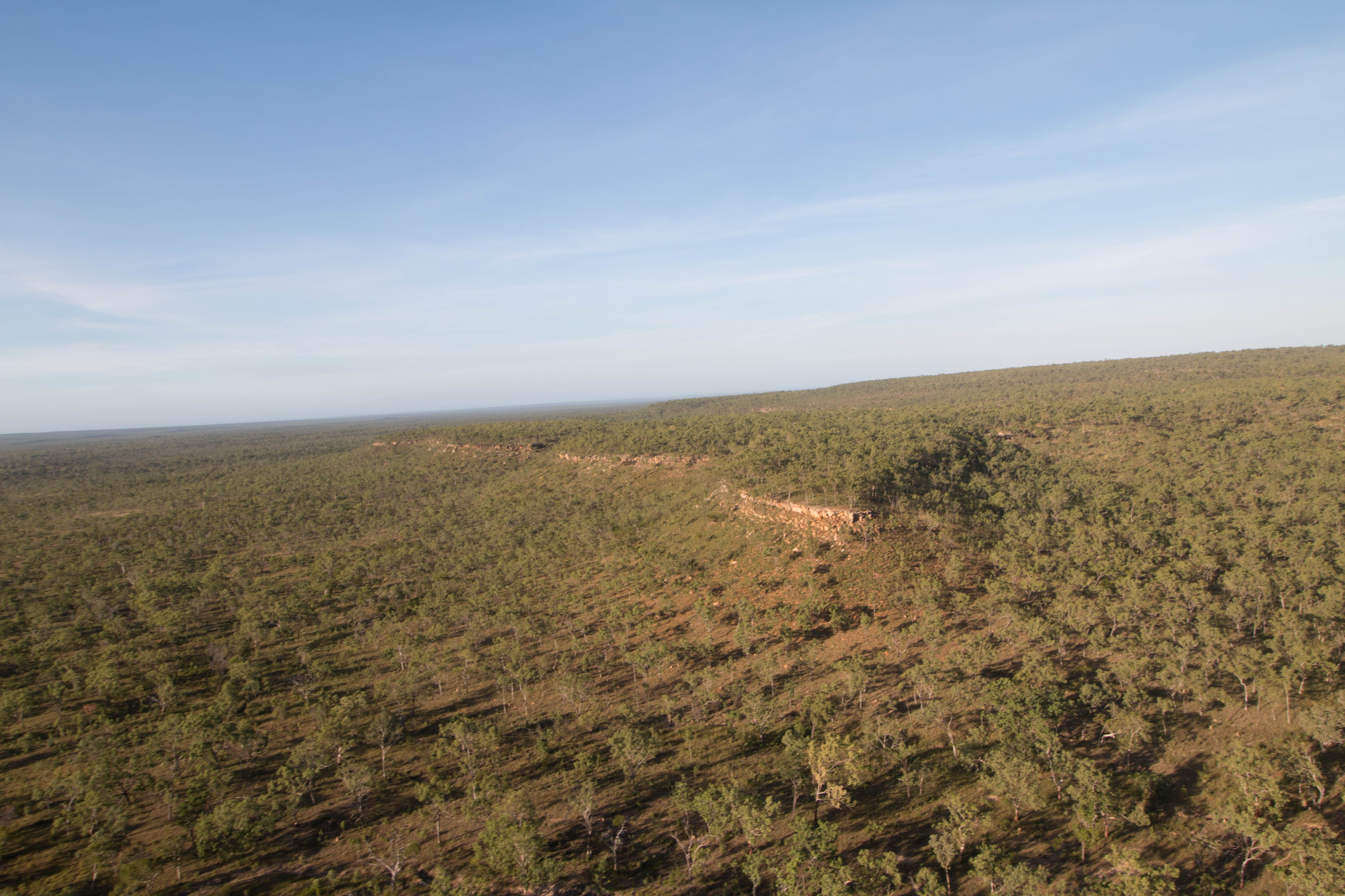 Southern section of the Parsons Range in Ngandi Country known as Rinyji